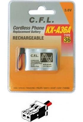 Cfl 3.6V 300 Mah Kısa Telsiz Telefon Pili