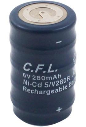 Cfl 6V 280 Mah Buton Pil