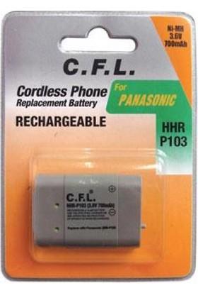 Cfl 3.6V P-103 700 Mah Telsiz Telefon Pili