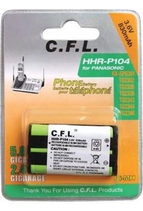 Cfl 3.6V P-104 830 Mah Telsiz Telefon Pili