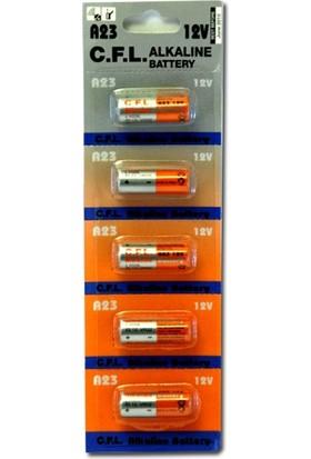 Cfl 23A 12V Alkalin Pil 5Li Blister