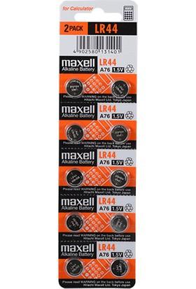 Maxell Lr44 Pil 10Lu Blister