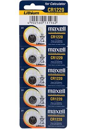 Maxell Cr1220 Pil 5Li Blister