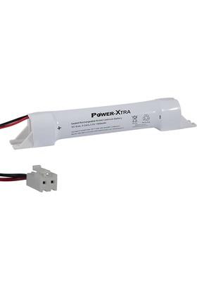 Power-Xtra 3.6V Ni-Cd Sc 1500 Mah Pvc 55Cm Kablo Vh Konnektör Kapaklı