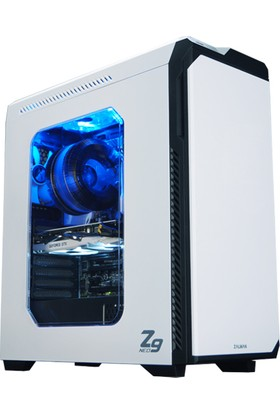 Zalman Z9Neo-Whıte 2xUSB 2.0 - 2xUSB 3.0 ATX Siyah Kasa
