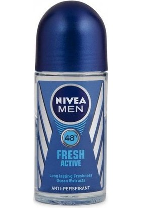 Nivea Men Fresh Actıve Deo Roll-On 50Ml