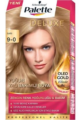 Palette Deluxe Kit Saç Boyası 9-0 Sarı