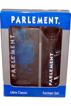 Parlement Ultra Classic Edt 100Ml+Deodorant 150Ml Erkek Parfüm Set