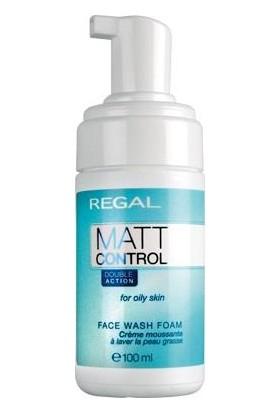 Regal Matt Control Yüz Yıkama Köpüğü 100Ml