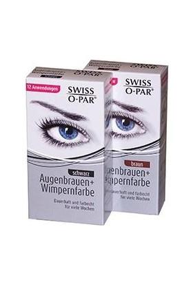 Swiss O Par Kaş Ve Kirpik Boyası - Kahverengi