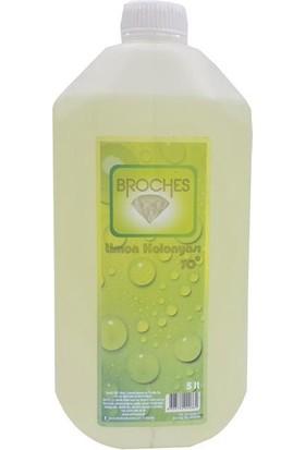 Broches Limon Kolonyası 70 Derece 5 Lt