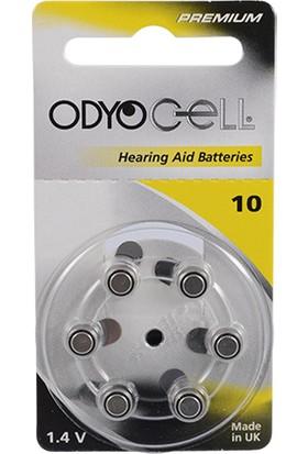 Odyocell Premium 10 Numara Kulaklık Pili 6Lı