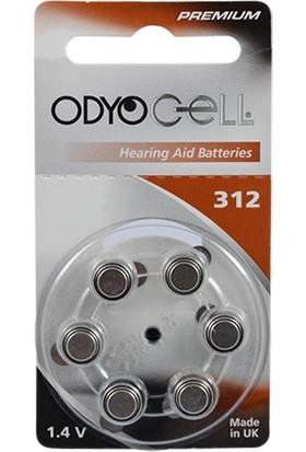 Odyocell Premium 312 Numara Kulaklık Pili 6Lı