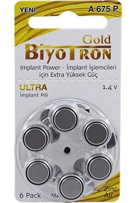 Biyotron Cochlear Implant 675 Numara Kulaklık Pili 6Lı
