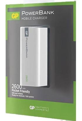 GP Portable 1C02A 2600 mAh Beyaz Renk(GP1C02AWE-2FB1)
