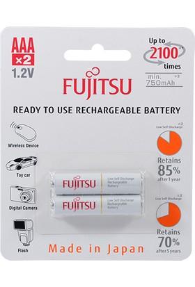 Fujitsu 1.2V 750 Mah Aaa R2U Şarjli Batarya