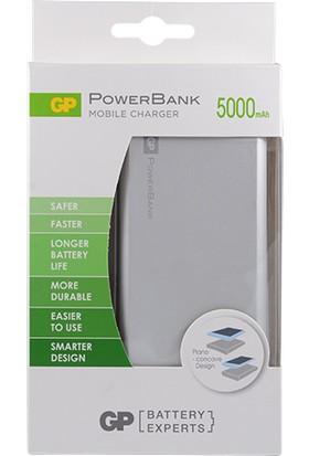 GP Portable FP05M 5000 mAh Gümüş Renk Powerbank(GPFP05MSE-2B1)