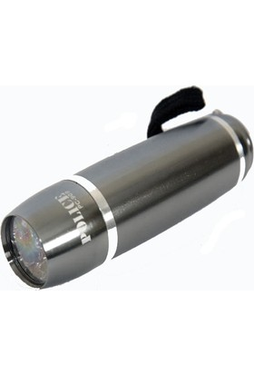 Police Pc-909 Power Ledli El Feneri 9 Ledli 3 X Aaa Pilli