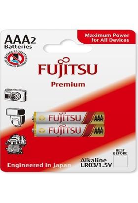 Fujitsu Premium Lr03 Alkaline Kalem Aaa Size Pil 2Li Blister