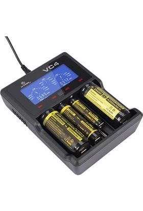 Xtar Vc4 Universal Li-İon/Ni-Mh/Ni-Cd Pil Şarj Cihazı