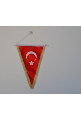 Bayrakal Üçgen Hatıra Türk Bayrağı