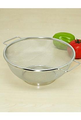 Kitchen Love Paslanmaz Çelik 22 cm Yuvarlak Süzgeç