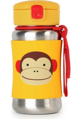 Skip Hop Pipetli Paslanmaz Çelik Suluk Maymun