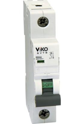 Viko 1x2A Monofaze Sigorta 3kA C Otomat 3VTB-1C02