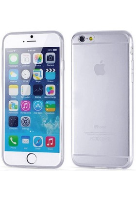 nanotechgsmmarket Apple iPhone 6 Plus 0.2 mm Ultra İnce Şeffaf Silikon Kılıf