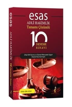 Pelikan Yayınları Esas Adli Hakimlik Tamamı Çözümlü 10 Deneme Sınavı