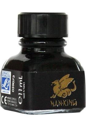 Lefranc&Bourgeois Nan-King Siyah Çini Mürekkebi 11 ml