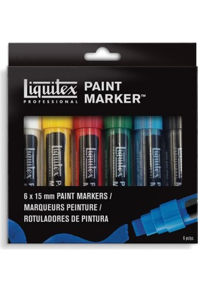 Liquitex Paint Marker Wide 6 Set