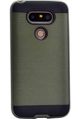 Kny Lg G5 Kılıf Ultra Korumalı Sert Silikon +Cam