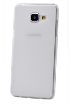 Kny Samsung Galaxy A7 2016 Kılıf Süper Silikon +Cam