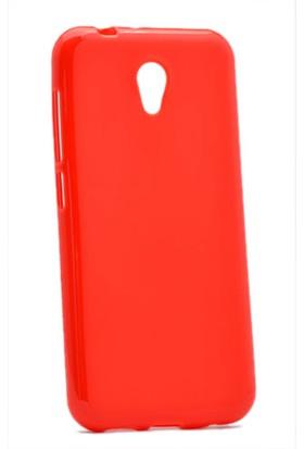 Kny Vodafone Smart Style 7 Kılıf Süper Silikon +Cam