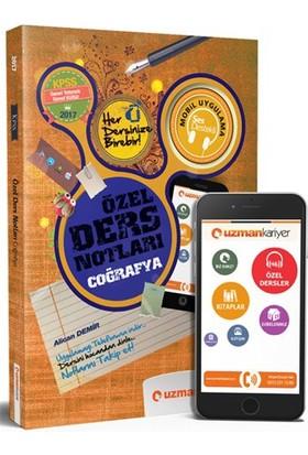 Uzman Kariyer Yayınları Kpss 2017 Coğrafya Özel Ders Notları (Akıllı Telefon Uygulamalı)