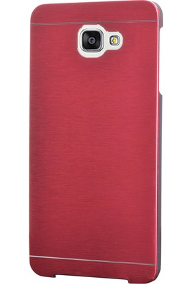 Gpack Samsung Galaxy C7 Kılıf Sert Arka Kapak Motomo