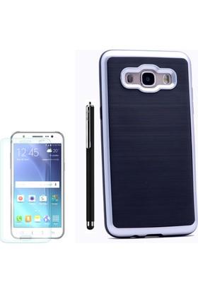 Gpack Samsung Galaxy On7 Kılıf İnfinitiy Motomo Sert Arka Kapak +Kalem + Cam