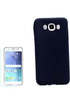 Gpack Samsung Galaxy J7 2016 Kılıf Premier Silikon Arka Kapak +Cam