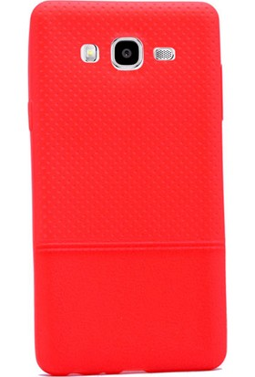Gpack Samsung Galaxy On7 Kılıf Matrix Silikon Arka Kapak