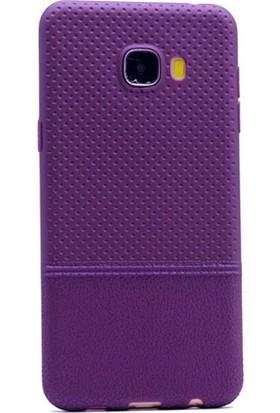 Gpack Samsung Galaxy C7 Kılıf Matrix Silikon Arka Kapak