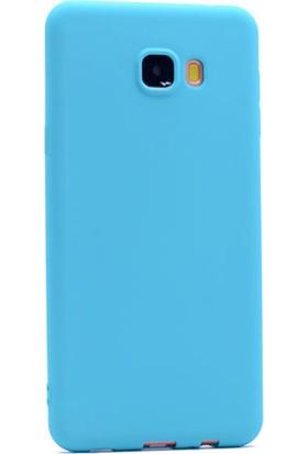 Gpack Samsung Galaxy C7 Kılıf Premier Silikon Yumuşak Arka Kapak