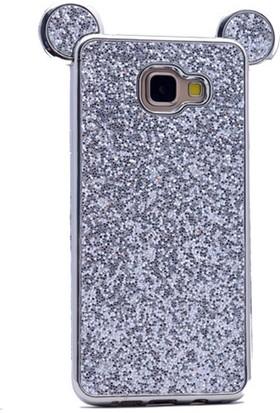 Gpack Samsung Galaxy A7 2016 Kılıf Taşlı Micky Silikon Arka Kapak