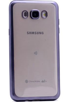 Gpack Samsung Galaxy J7 2016 Kılıf Lazer Silikon Arka Kapak