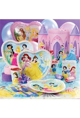 Partypark Prensesler Eko Parti Seti (16 Kişilik)