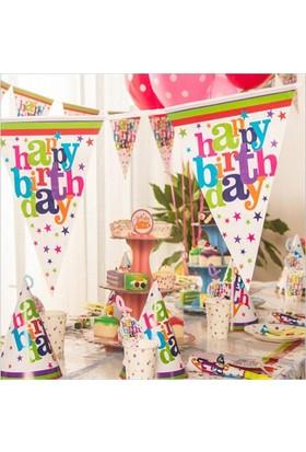 Partypark Happy Birthday Basic Parti Seti (16 Kişilik)