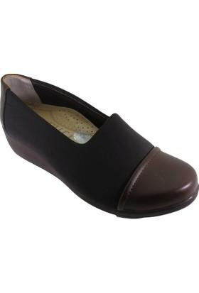 Oflaz Y-100 Kadın Günlük Dolgu Taban Confort Ayakkabı
