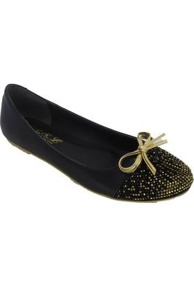 Oflaz Y-111 Kadın Günlük Taşlı Babet Ayakkabı
