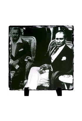 Fotografyabaski Mustafa Kemal Atatürk 6 - Kare Taş 15X15Cm
