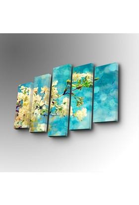 İlkbahar 5 Parça Canvas Tablo 5PUC-160